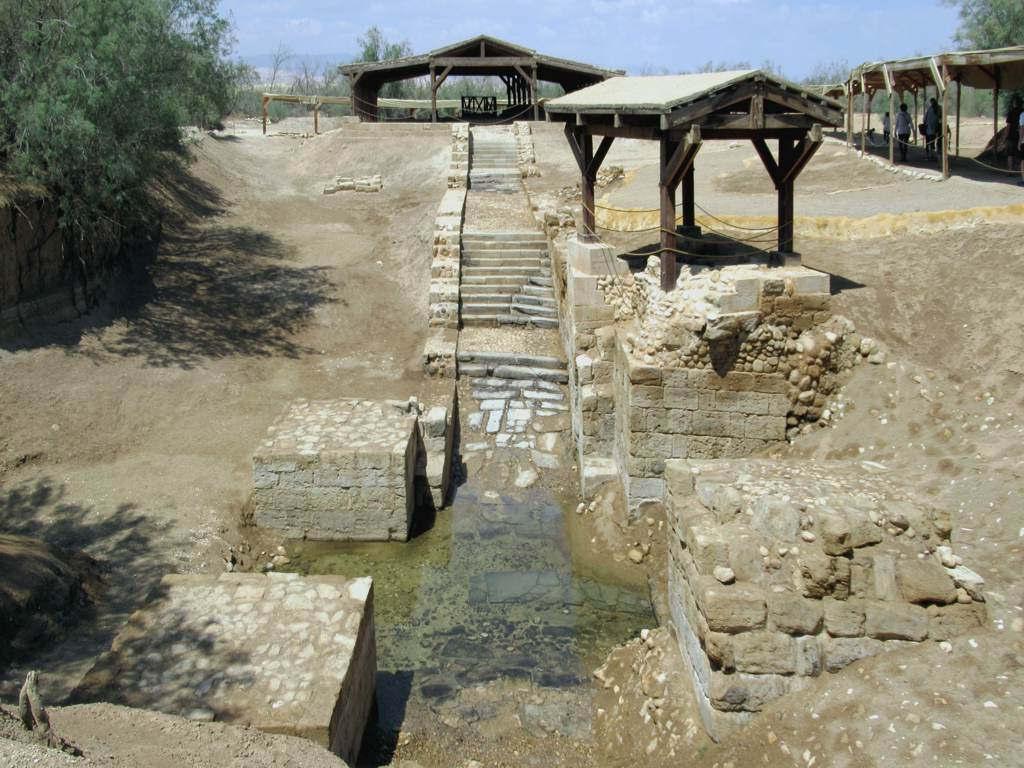 Bild von John the Baptist Spring. jesuschrist johnthebaptist bethany jordan river