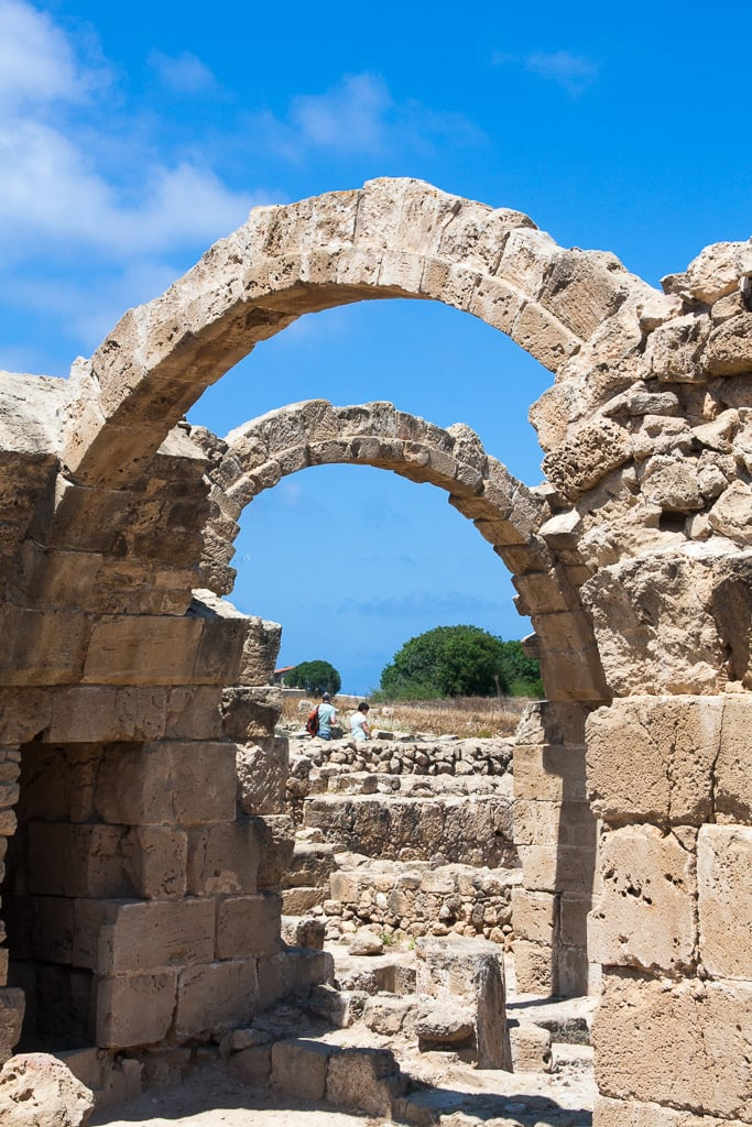 Imagen de Saranta Kolones Castle. paphos paphosdistrict cyprus cy