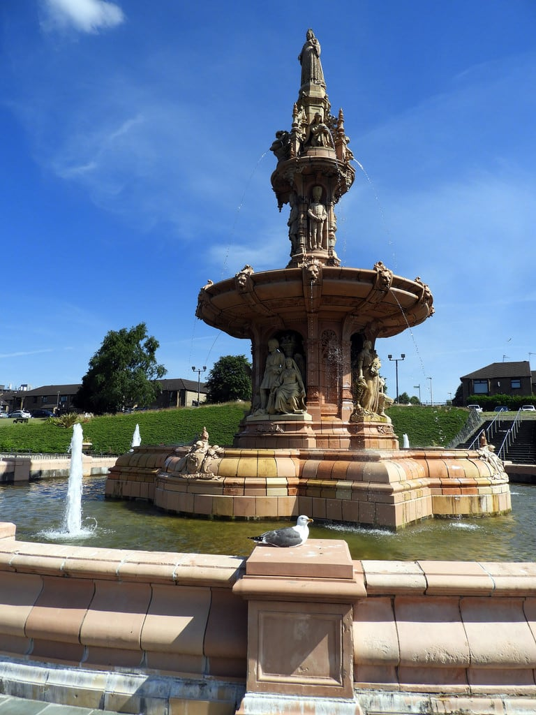 Изображение The Doulton Fountain. glasgow fountain
