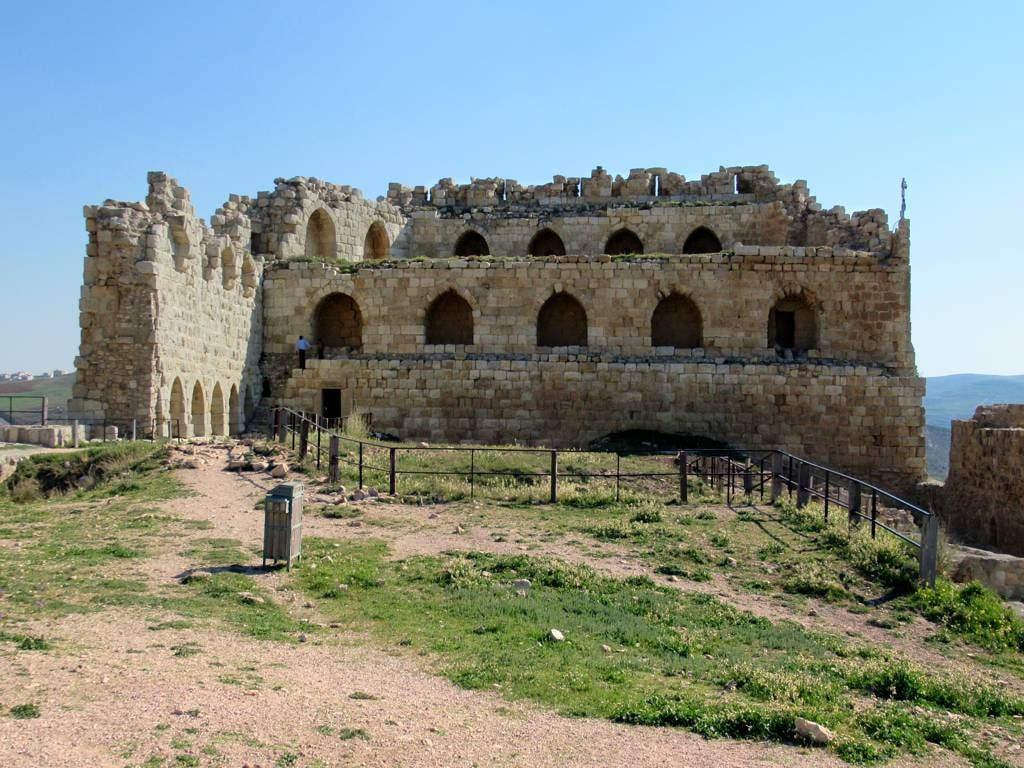 Bild von Kerak. mameluke karak castle jordan crusaders