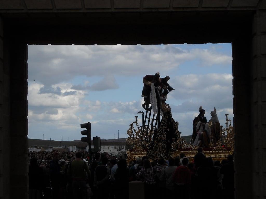 Obraz Puerta del Puente. santa españa puente spain puerta andalucia cordoba procession andalusia semana spagna descendimiento