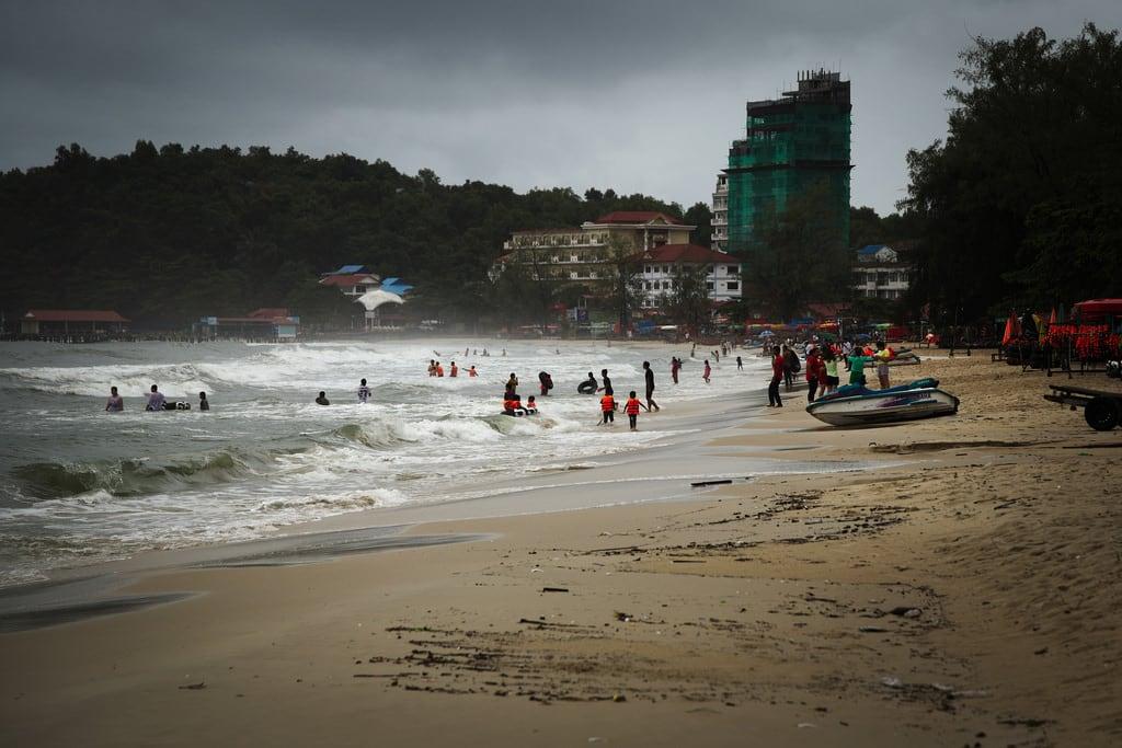 Ochheuteal Beach 的形象. sea mare krong preah sihanouk ក្រុងព្រះសីហនុ beach spiaggia canon eos6d 24105mm cambodia cambogia