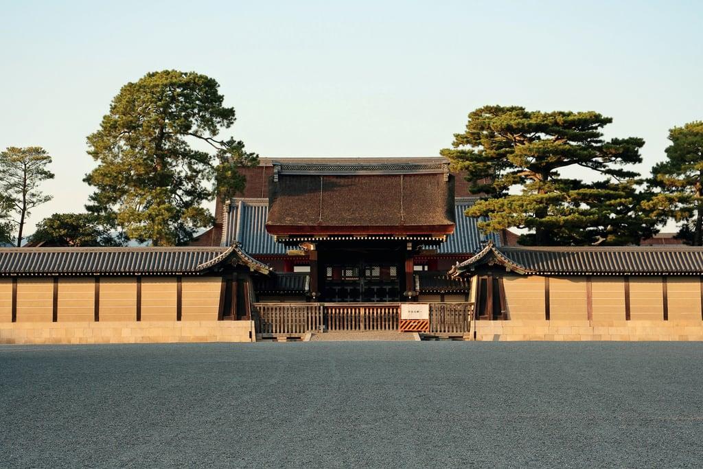 Billede af Kyoto Imperial Palace. 二条城 京都 kyoto 日本 japan 京都御所 京都御苑 gyoen
