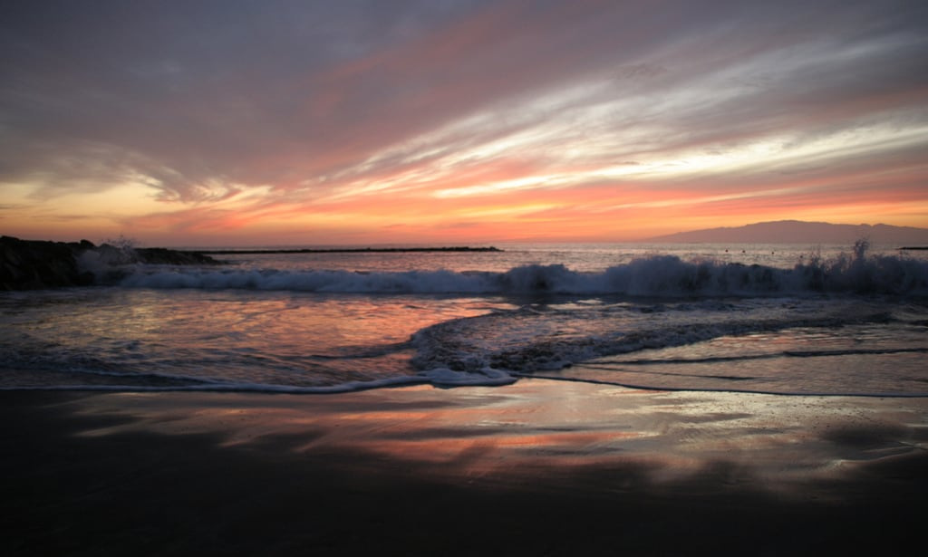 Image de Playa de Fañabe près de Playa de las Américas. tenerife sunset fanabebeach beach evening hisgett canaryislands canary islands spain