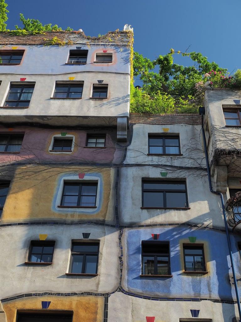 Obraz Hundertwasserhaus.
