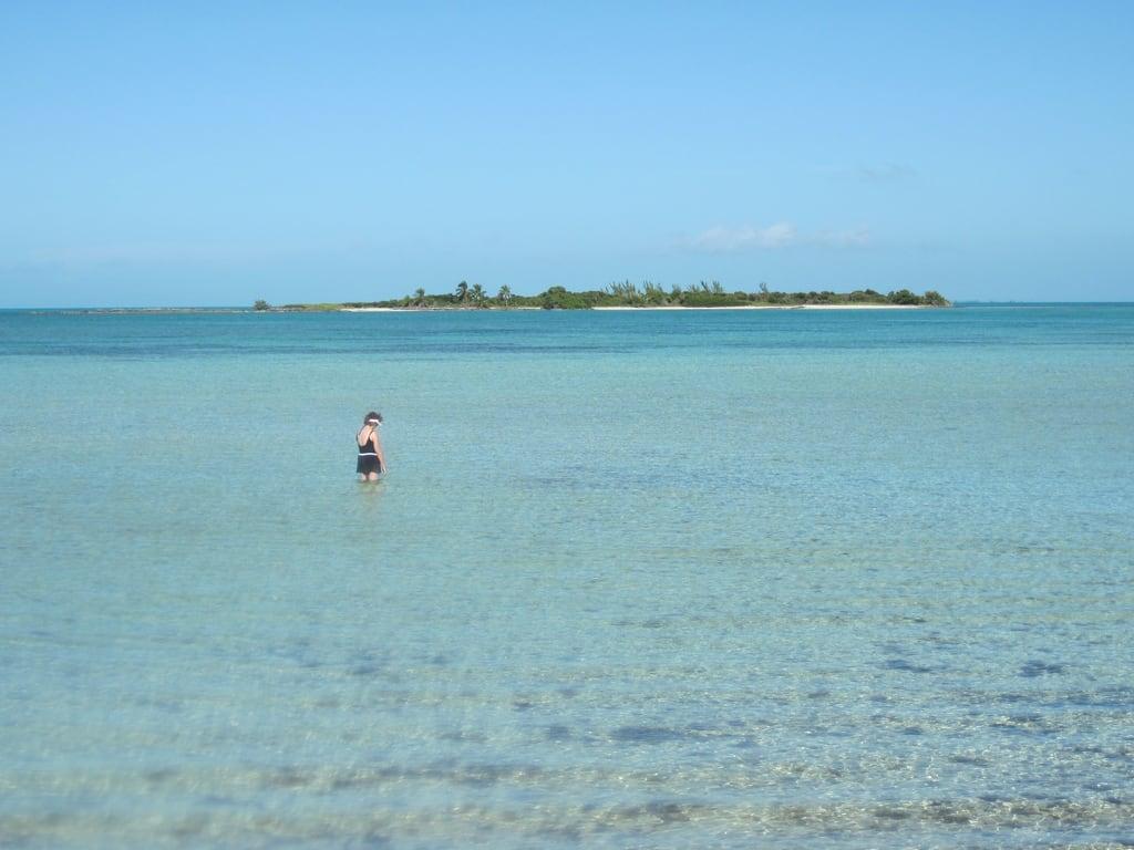 Image of Beach with a length of 991 meters. cruise vacation disney atlanticocean 2009 bahama disneycruise castawaycay