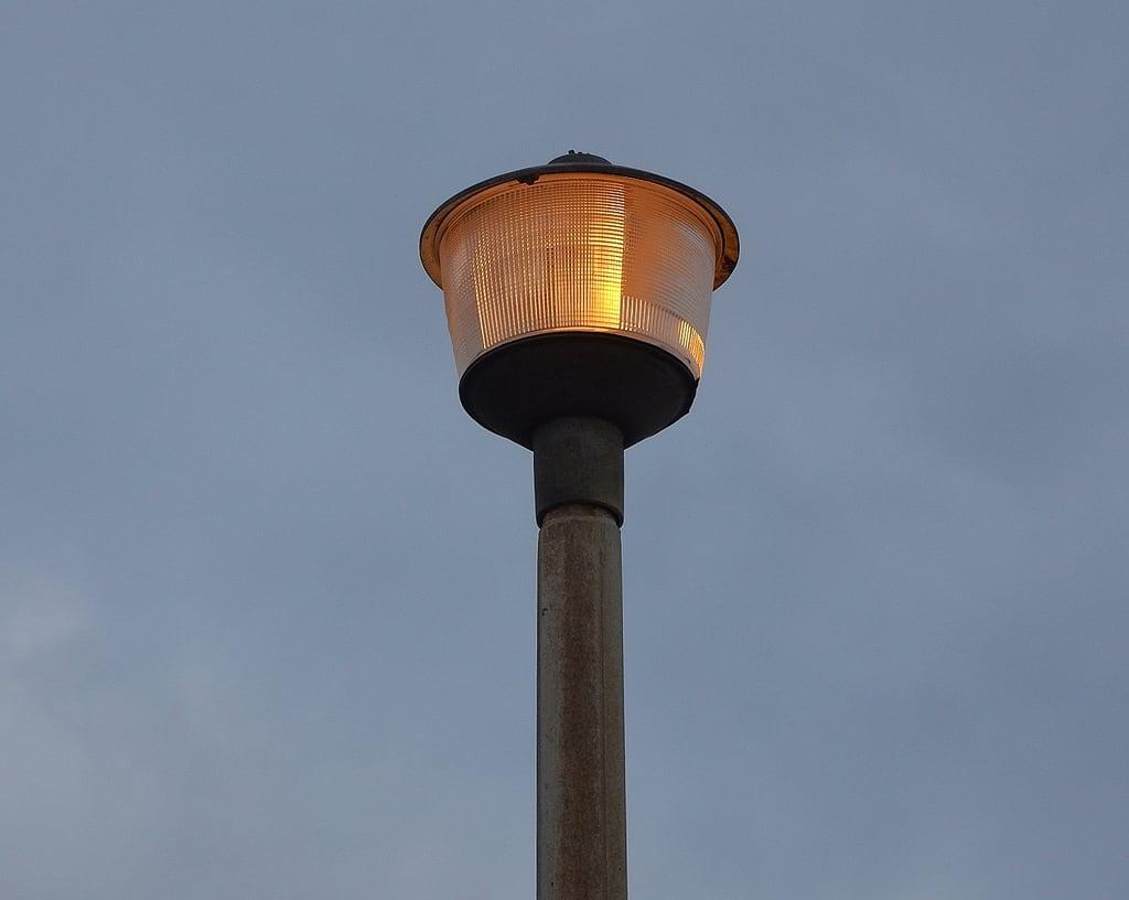 Image of Henley Beach near Henley Beach. henleybeach golden light streetlamp erect