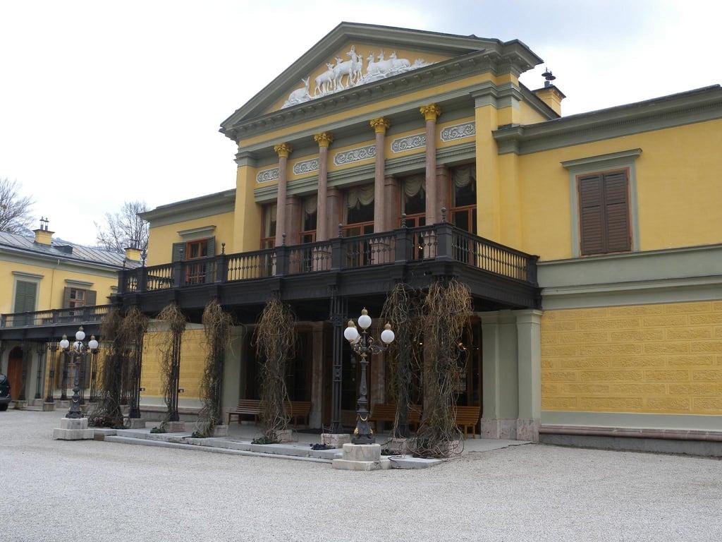 Image of Kaiservilla. architecture austria österreich architektur oberösterreich upperaustria badischl kaiservilla