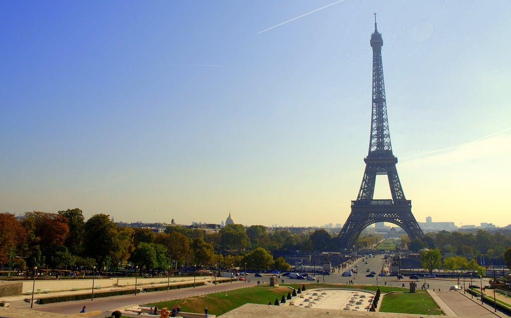 埃菲尔铁塔 的形象. paris france