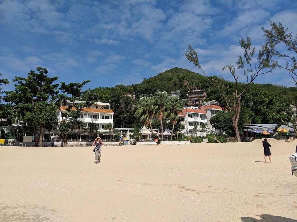 Billede af Hung Shing Yeh Beach (洪聖爺灣泳灘) Hung Shing Yeh Beach.