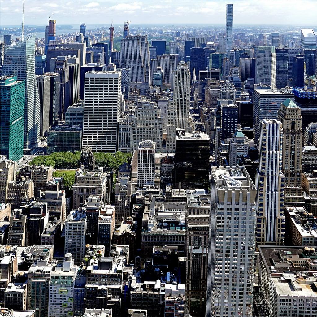 Attēls no Empire State Building.