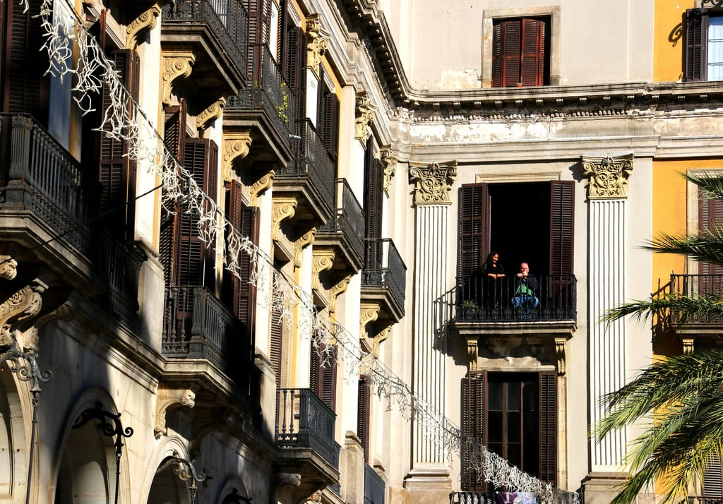 Εικόνα από Plaça Reial. barcelona barcelone barrigòtic elgòtic barriogótico plaçareial catalunya cataluña catalonia catalogne españa espagne spain spanien giåm guillaumebavière