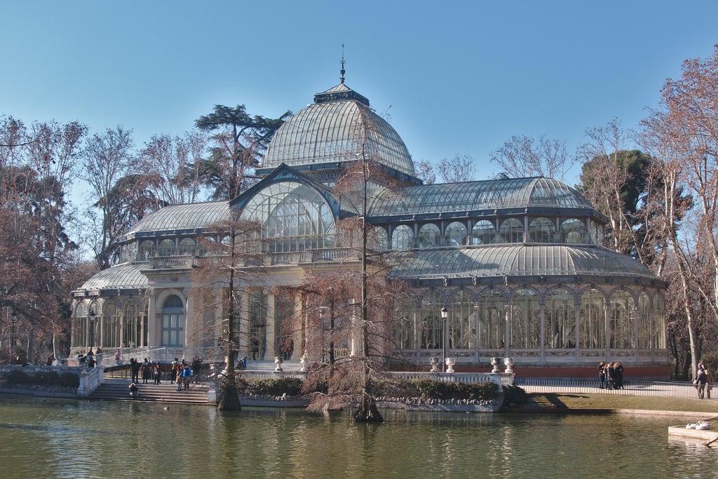 Imagem de Palacio de Cristal. españa madrid spain crystalpalace palaciodecristal parquederetiro retiro