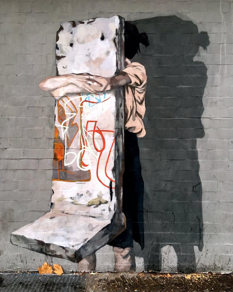 Bild von Berlin Wall. 2018 berlin urbannation schöneberg germany city wall wallart painting eu art mural urbanart urban europe streetart