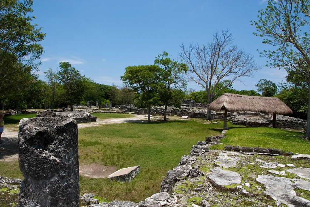 Imagine de San Gervasio. urlaub cozumel amerika mexiko ruinen mex quintanaroo historisch mexmexiko