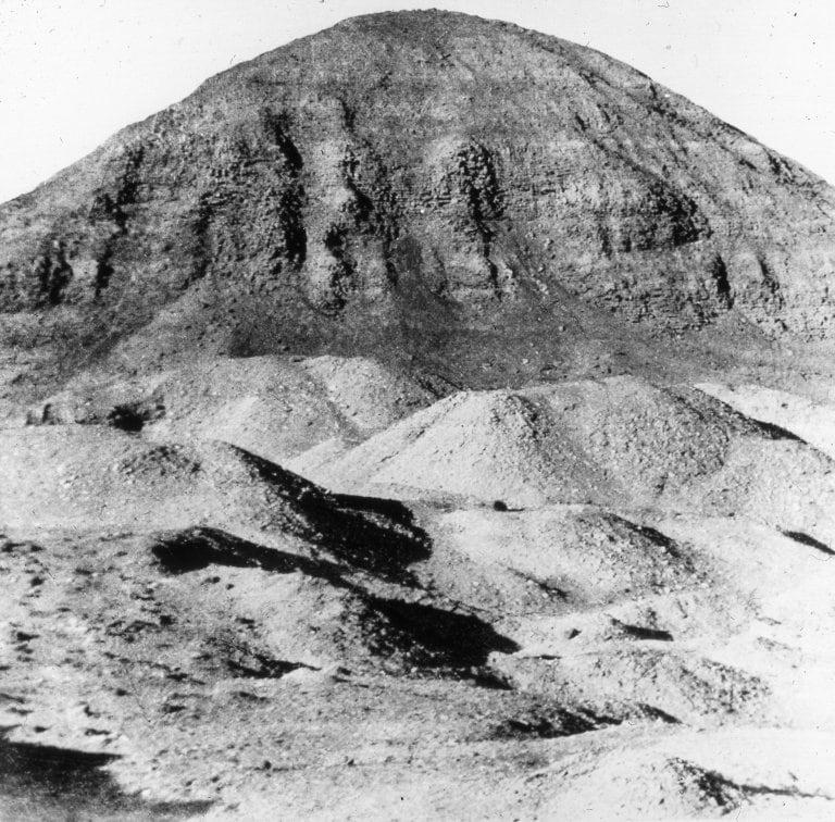 Obraz Pyramid of Hawara. hawara amenemhet faiyum