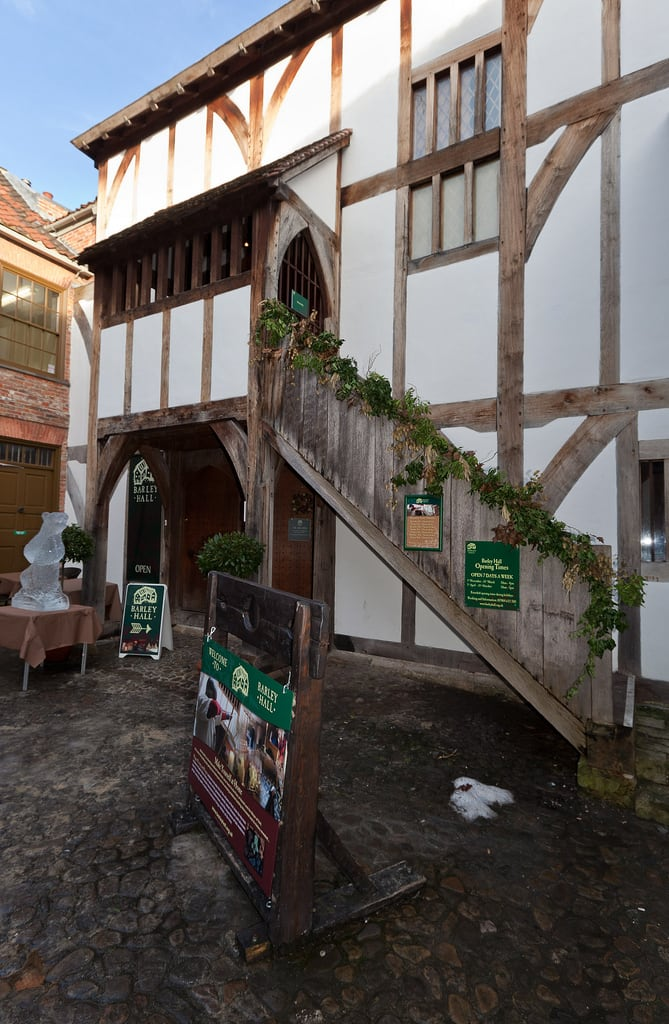 Bild von Barley Hall. york england places medieval northyorkshire halftimbered barleyhall festivalofangels yorkarchaeologicaltrust
