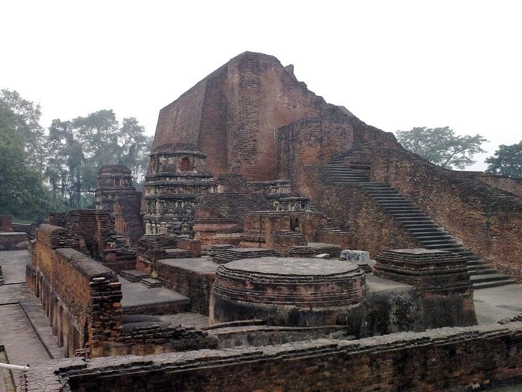Hình ảnh của Nalanda University ruins gần Silao. india nalanda