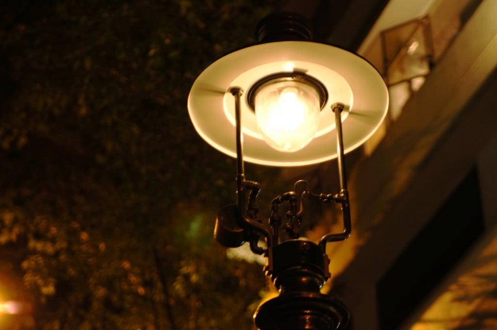 Image of Duddell Street gas street lamps near Hong Kong. street travel lamp hongkong gas duddell