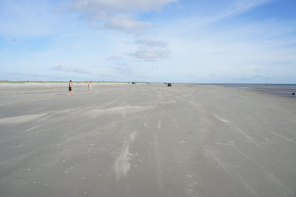 Image of Sandy beach. water kids denmark sand vesterhavet damark