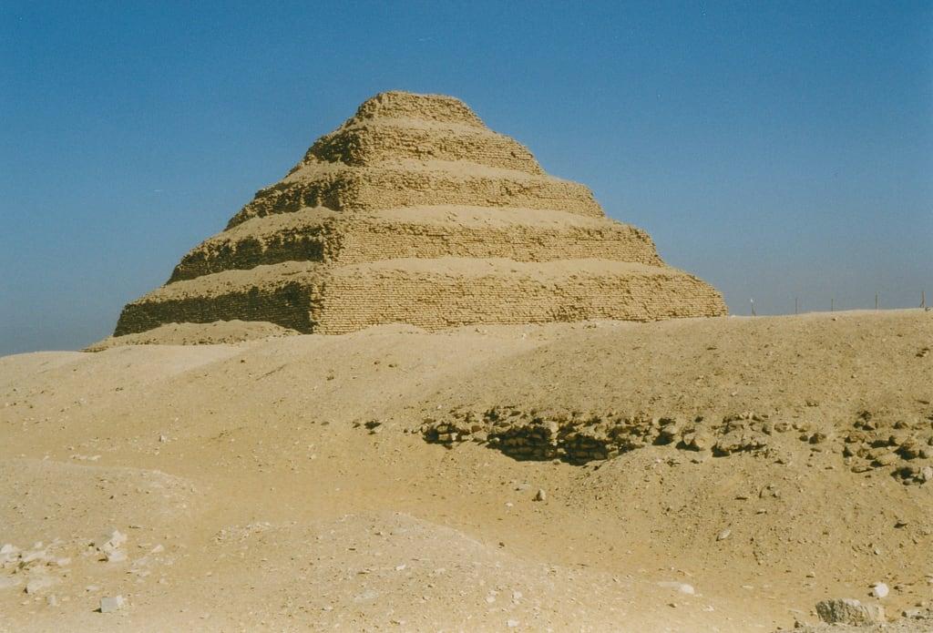Obraz Pyramid of Djoser. saqqara steppyramidofdjoser steppyramid djoser egypt pyramid unescoworldheritagelist unescoworldheritage unesco worldheritagelist worldheritage heritage worldheritagesite 1998