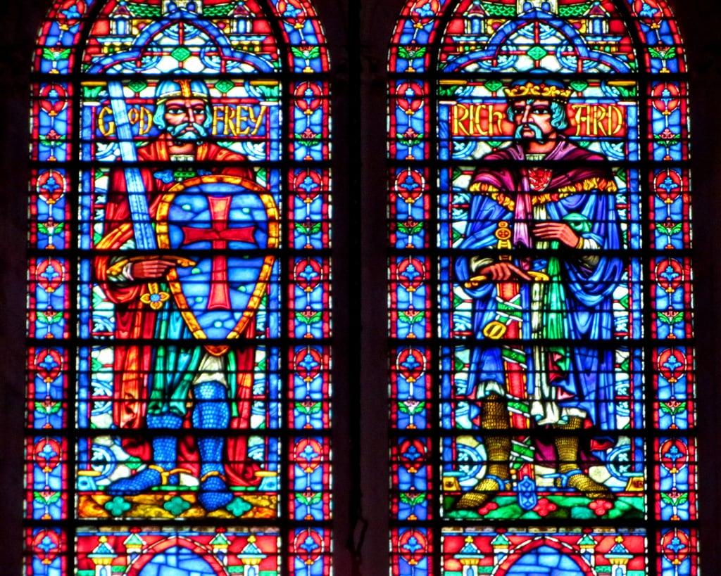 Attēls no Cathedral of Saint John the Divine. nyc travel newyork church window cathedral manhattan religion stainedglass stjohn divine