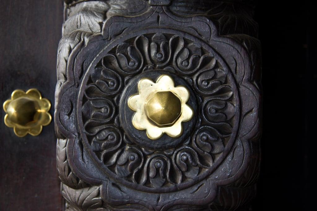 Image of House of Wonders. africa door wood tanzania zanzibar stonetown brass houseofwonders