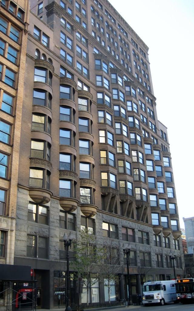 Image de Manhattan Building. chicago illinois theloop cookcounty 1890s williamlebaronjenney