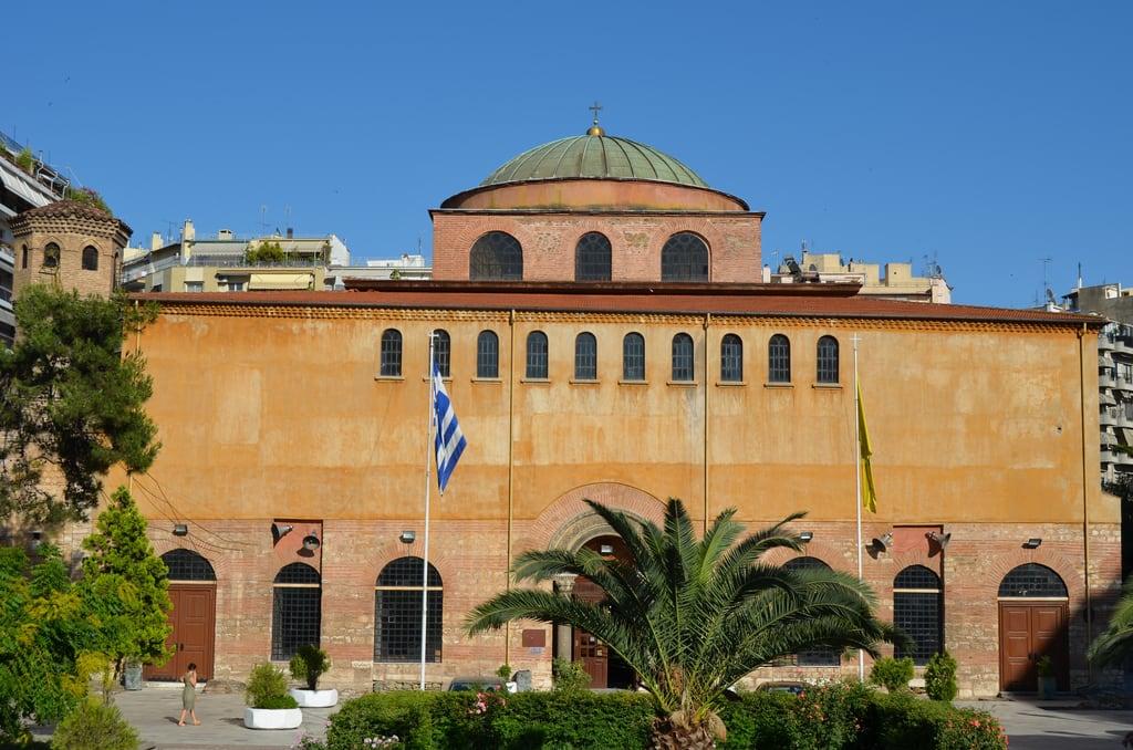 Obrázek Agia Sofia. greece salonica