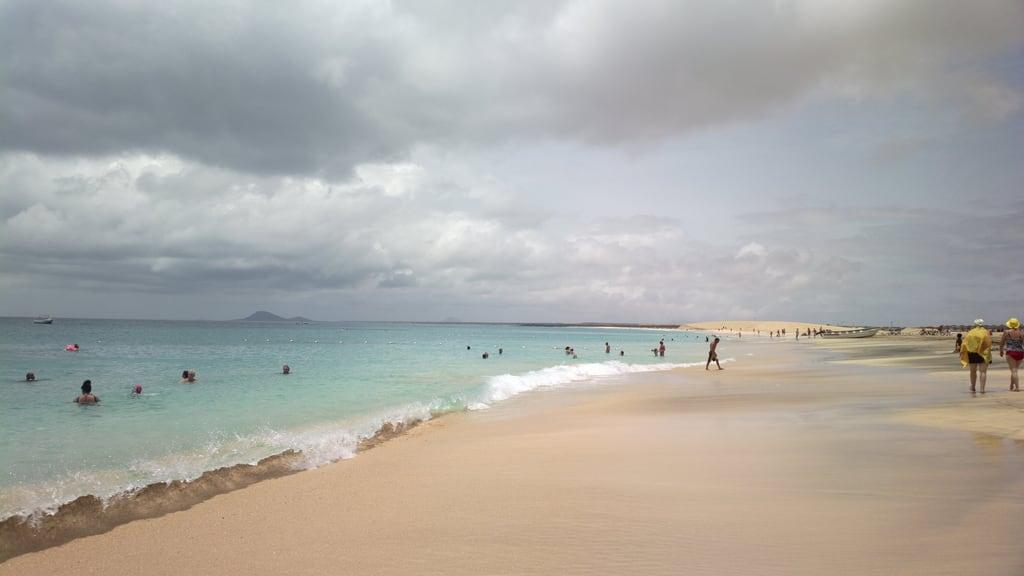 Bild av Praia da Ponta Preta. sun holiday beach bliss sal capeverde