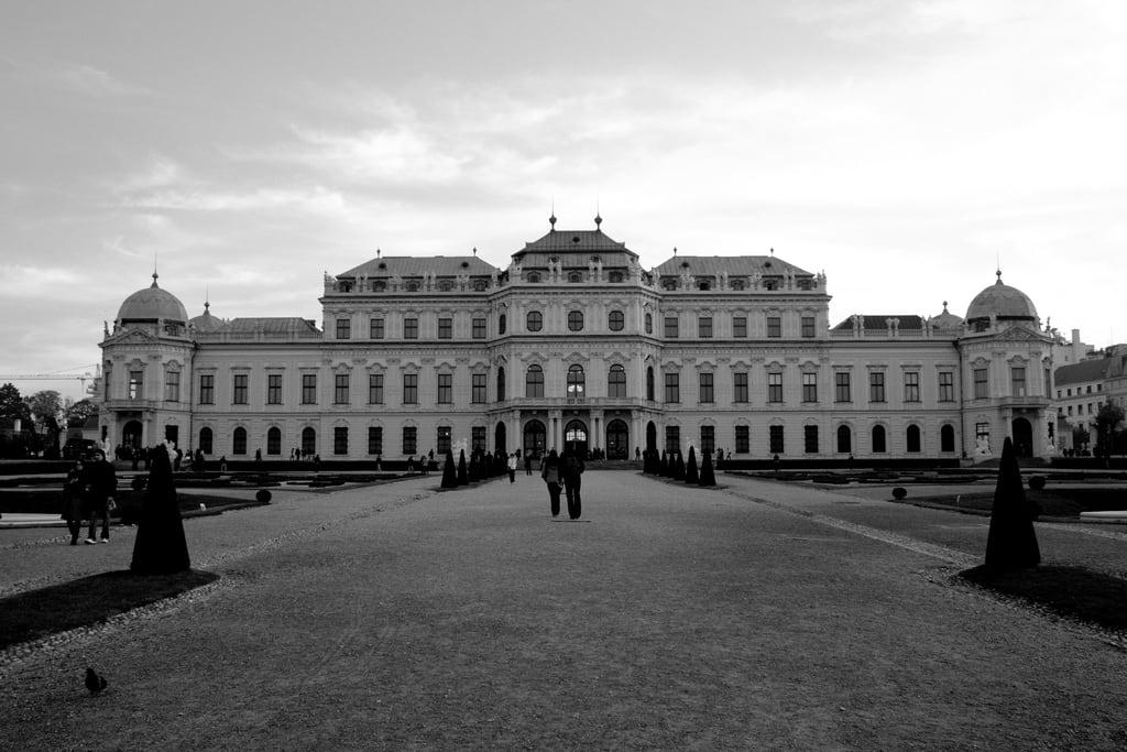 Image of Upper Belvedere. vienna austria oberesbelvedere upperbelvedere schlossbelvedere palaisdubelvédère belvédèresupérieur