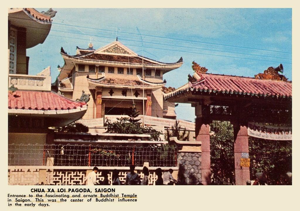 Imagine de Xa Loi Pagoda. pagoda buddhism saigon southvietnam chuaxaloi