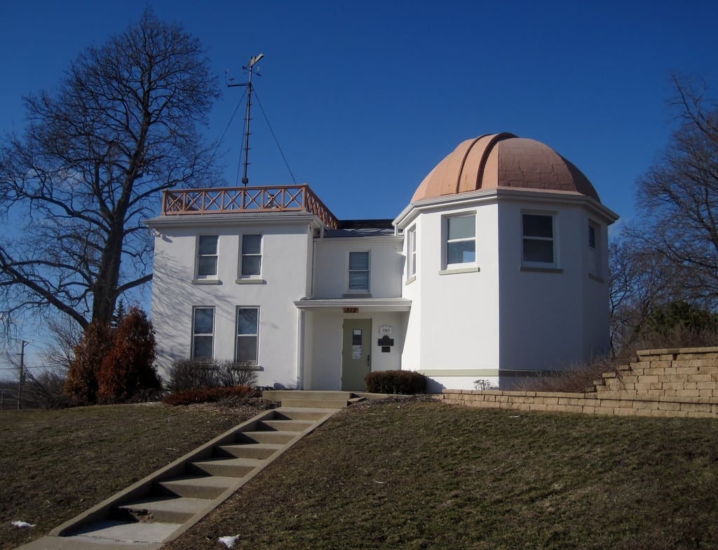 Image de Elgin National Watch Company Observatory. illinois watches kanecounty 1910s classicalrevival obersvatory