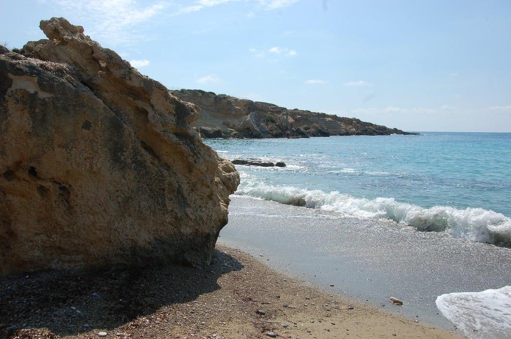 Bild av Coral Beach Sandy beach. cyprus cypr
