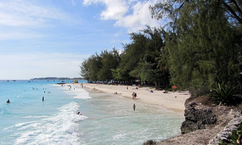 Bild av Enterprise Beach. ocean travel sea christchurch vacation beach miami barbados caribbean enterprise