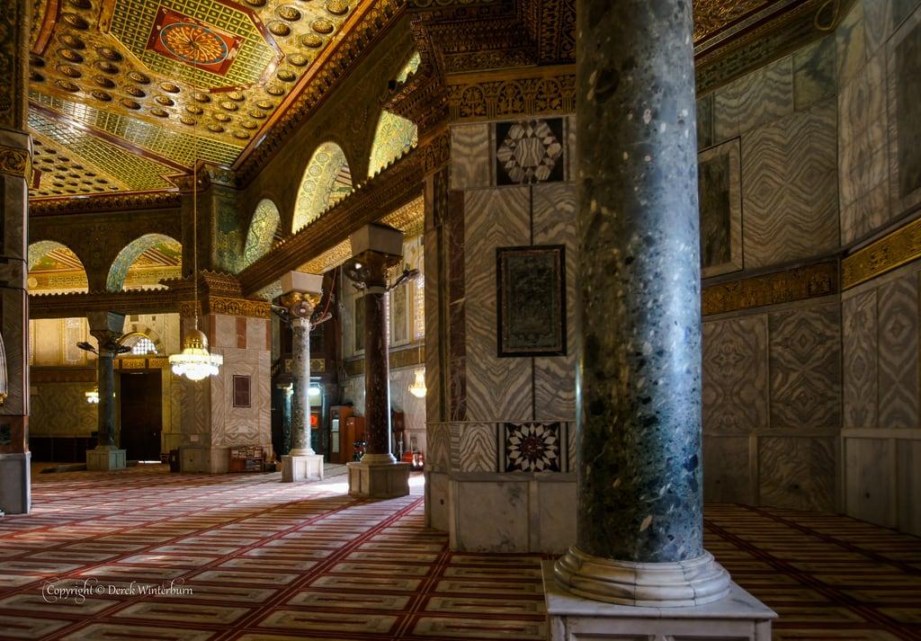 Изображение Купол Скалы вблизи Old City. israel jerusalem muslimquarter templemount