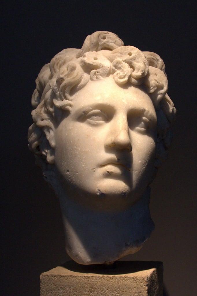 Obraz Alexander the Great Statue. museum greece thessaloniki archaeological μουσείο αρχαιολογικό θεσσαλονίκησ