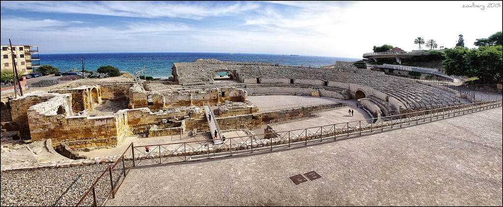Зображення Amfiteatre Romà. sea roma panoramic tarragona amfiteatre
