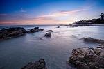Zdjęcie:   Hiszpania  Andaluzja  Granada  (zachód słońca, plaża szum, mijas costa)