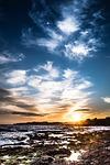 Zdjęcie:   Hiszpania  Andaluzja  Granada  (zachód słońca, beach, costa)