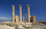Zdjęcie:   Grecja  Rodos  Lindos  (temple, athena, lindia)